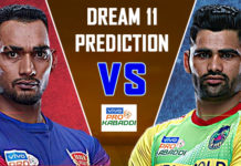 Dream11 PAT Vs DEL Match details, 108th PKL 2019, Dream11 DEL Vs PAT Match, Dream11 PAT, Dream11 DEL, Del vs Pat Dream11 Prediction, Dream11 PAT Vs DEL Live Prediction, DEL Playing Seven, PAT Playing Seven, PAT vs DEL Playing Seven,