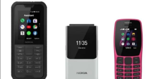 Nokia के तीन नए फीचर फोन हुए लॉन्च, FB-WhatsApp भी चलेगा - Nokia 2720 flip 800 tough 110 2019 feature phones launched at ifa 2019 ttec, Nokia 800 Tough Specifications