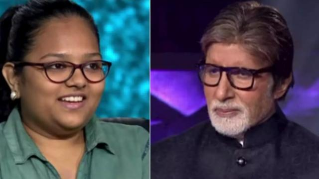 Anchal Gupta won 12 lakh 50 thousand, KBC 11, Amitabh Bachchan show, Amitabh Bachchan, anchal gupta knows 25 lakh question-answer take home 12 lakh 50 thousand, anchal gupta know 25 lakh question answer, Amitabh Bachchan Kaun Banega crorepati, Kaun Banega crorepati 11