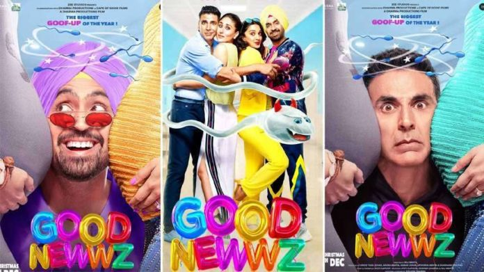 Good Newwz Total Box Office Collection, Good Newwz All Day Wise Box Office Collection, Good Newwz Weekend Collection, Good Newwz Overseas Collection, Good Newwz Worldwide Gross Collection