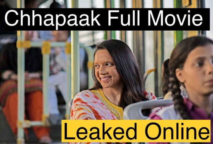 Chhapaak Full Movie Download 360p, 480p, 720 & 1080p TamilRockers | Chhapaak Watch Online Movie | छपाक मूवी डाउनलोड करे बिलकुल फ्री !, Leaked Chhapaak Movie