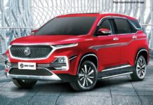 MG Hector 2021 specifications